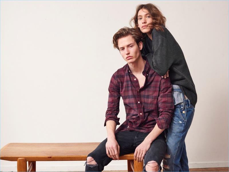 Abercrombie & Fitch relaunches its denim collection with fresh style names.