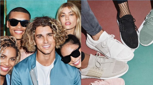 Jay Alvarrez and Daviid Chima appear in Aldo's fall-winter 2017 campaign.