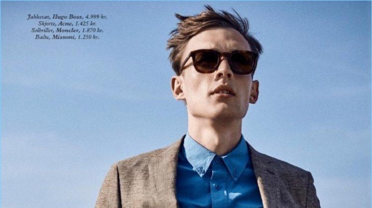 Leisure Season: Alexander Stoltz Stars in Luxury Aficionados Cover Story