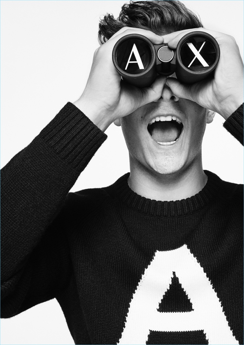 Martin Garrix in New Armani Exchange Fall/Winter Campaign