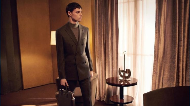 A Cinematic Journey: Hannes Gobeyn Fronts BOSS' Fall '17 Campaign