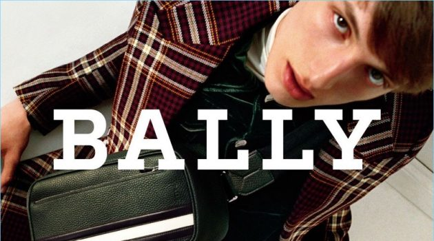 Antoine Duvernois fronts Bally's fall-winter 2017 campaign.