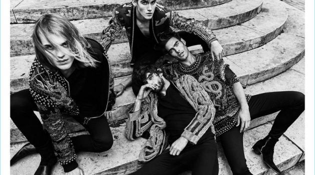 Olivier Rousteing Shoots Balmain's Fall '17 Campaign