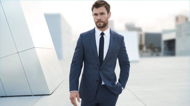 Chris Hemsworth Fronts BOSS Bottled Fragrance Campaign