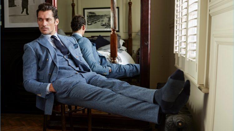 David Gandy Talks Wedding Style Tips with London Sock Co.