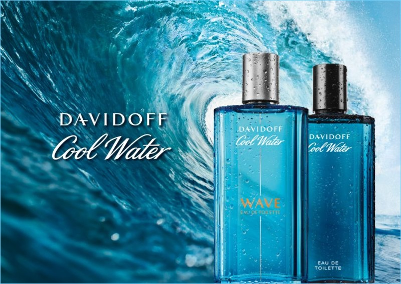 Davidoff Cool Water Wave Fragrance Artwork