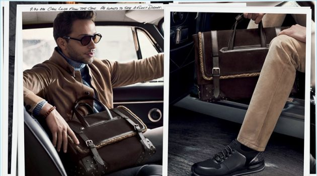 Tod's enlists Derek Blasberg as the star of its fall-winter 2017 campaign.