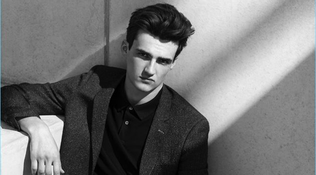 Elliot Vulliod Stars in Drapers Cover Shoot, Models Smart Fashions