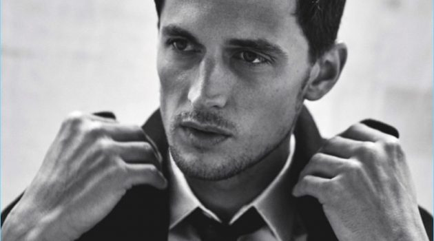 Well Suited: Garrett Neff Wears Sharp Looks for GQ Australia