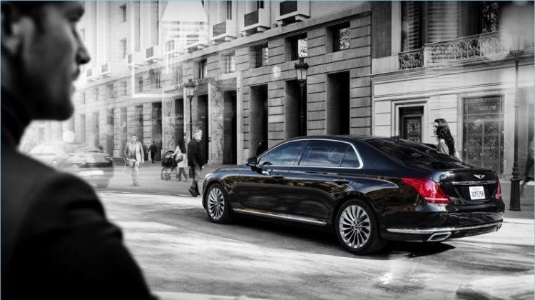 Sponsored Video: Elle Evans & Her Dog Take the Genesis G90 for a Ride