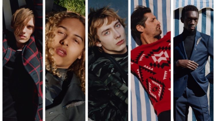 Jamie Campbell Bower, Tony Ward + More Star in HUGO's Fall '17 Campaign