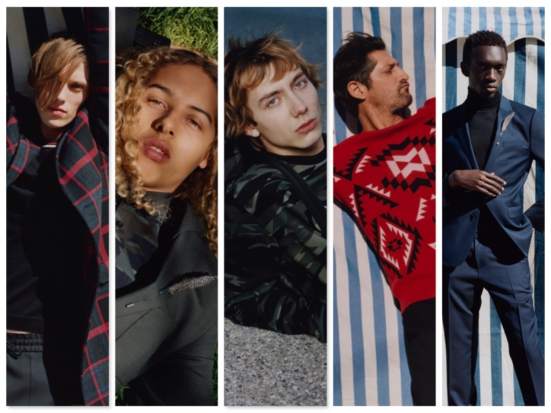 German brand HUGO enlists an eclectic cast to star in its fall-winter 2017 campaign.
