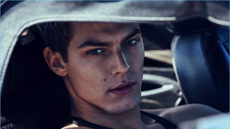 Jacob Hankin Sports Designer Looks for GQ Russia