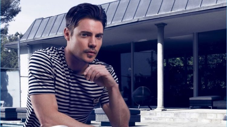 Reinventing the Modern Man: Josh Henderson Stars in Lapalme Shoot