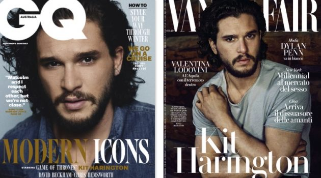 Kit Harington Covers GQ Australia & Vanity Fair Italia