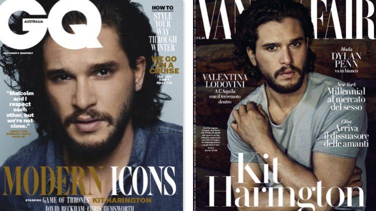 Kit Harington Covers GQ Australia & Vanity Fair Italia
