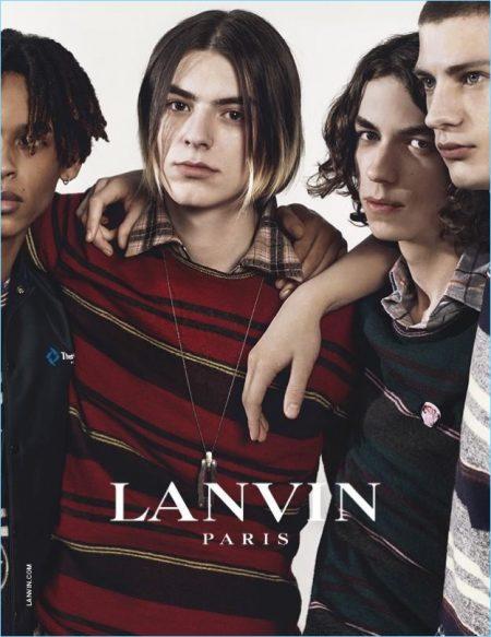 Lanvin Exudes Parisian Cool for Fall '17 Campaign