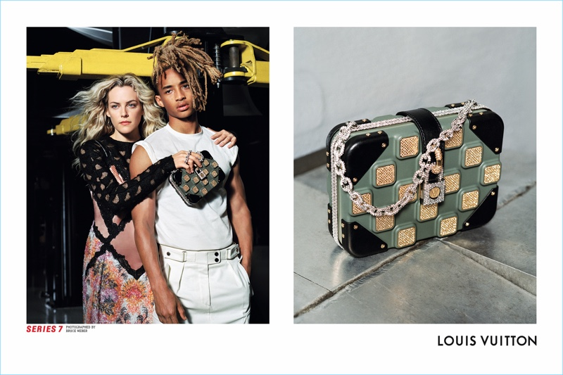 Bruce Weber photographs Riley Keough and Jaden Smith come together for Louis Vuitton's Series 7 fall-winter 2017 campaign.