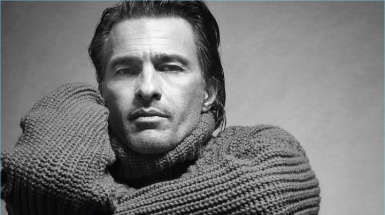 Olivier Martinez & Jegor Venned Star in Mango Man's Fall '17 Campaign