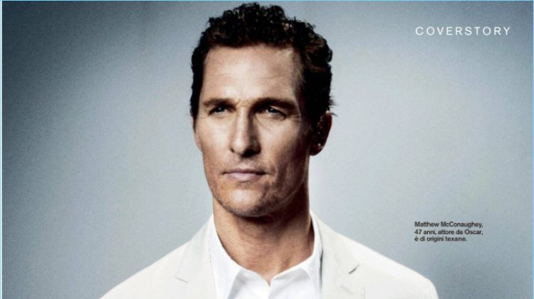 Matthew McConaughey Talks 'The Dark Tower' with D la Repubblica & Grazia Italia