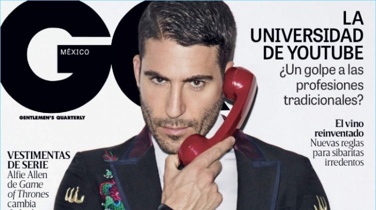Miguel Ángel Silvestre Covers GQ México, Embraces Dapper Style
