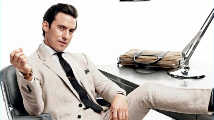 Milo Ventimiglia Stars in GQ Photo Shoot, Dresses for the Office