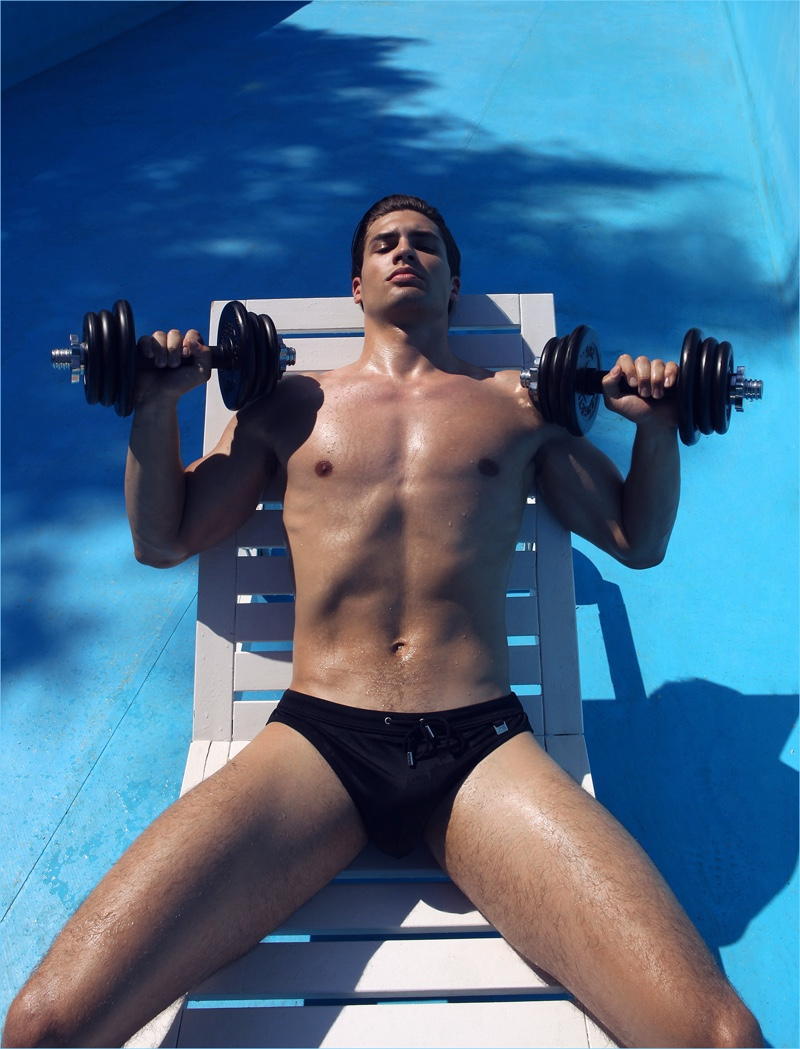 Miroslav Cech graces the pages of Grade magazine with a summertime shoot.