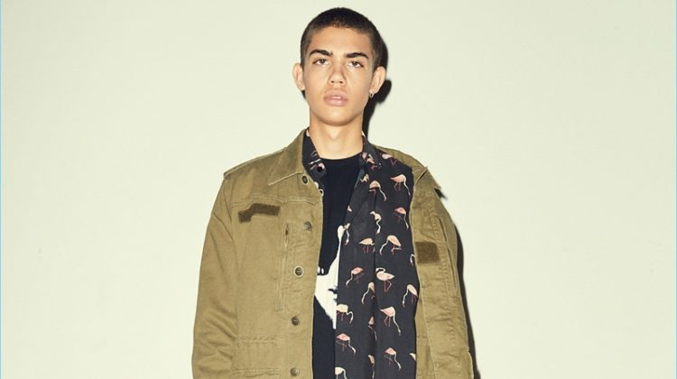 Get the Look: Saint Laurent's Casual Fall Military Style