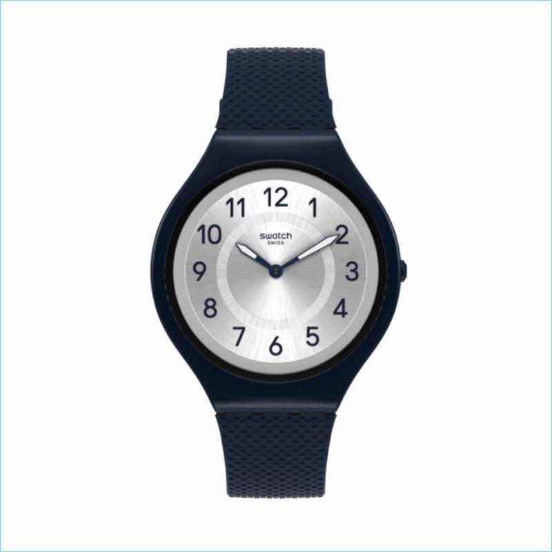 Swatch debuts its ultra-thin SKIN watch.