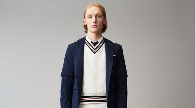 Thom Browne Brings a Sartorial Flair to Tennis Inspirations