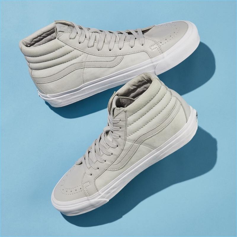 Vans x Barneys New York Sk8-Hi Nubuck & Leather Sneakers