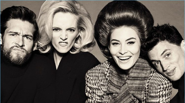 Shades of Time: Garrett Neff, Rogier Bosschaart + More by Steven Meisel for Vogue Italia