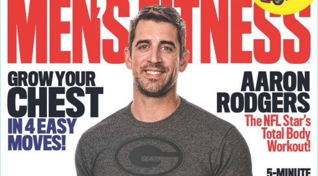 Aaron Rodgers covers the September 2017 issue of Men's Fitness.