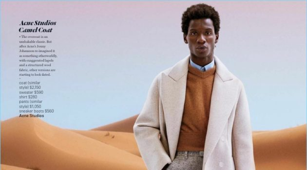 Adonis Bosso Models 'The Fall Stars' for GQ Style