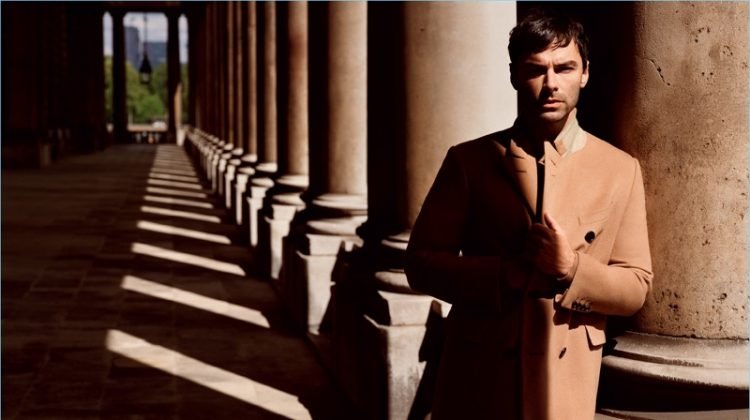 Aidan Turner Fronts Dunhill's Fall '17 Campaign