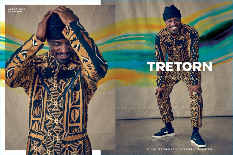 André 3000 stars in Tretorn's fall-winter 2017 campaign.
