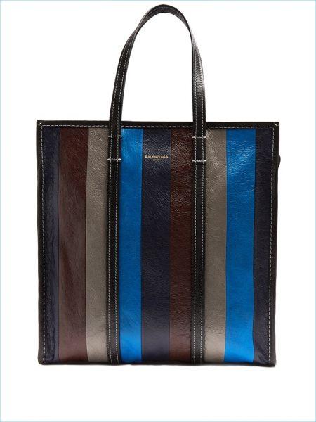 Balenciaga Bazar Medium Leather Tote
