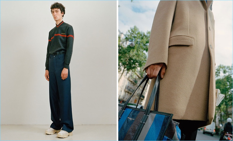 Relaxed proportions are back in vogue with the latest from Balenciaga.