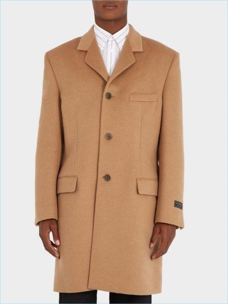 Balenciaga Single-Breasted Coat