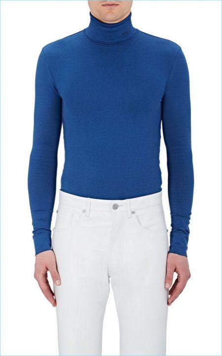 Calvin Klein 205W39NYC Cotton Turtleneck Shirt