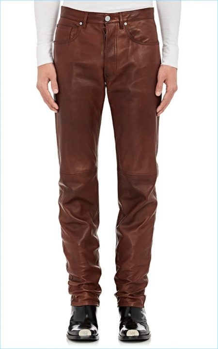 Calvin Klein 205W39NYC Leather Pants