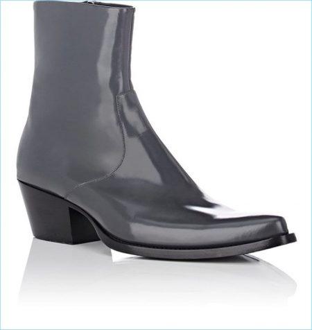 Calvin Klein 205W39NYC Spazzolato Leather Boots