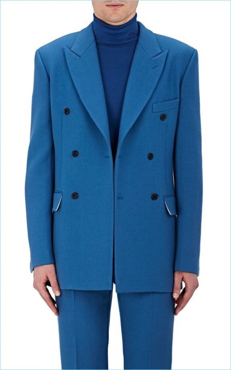 Calvin Klein 205W39NYC Wool Double-Breasted Sportcoat