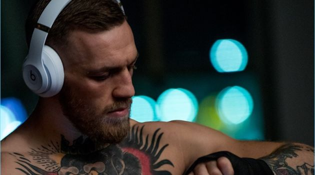 Conor McGregor stars in a campaign for Beats by Dre.