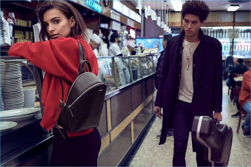 New York life is front and center for DKNY's fall-winter 2017 campaign.