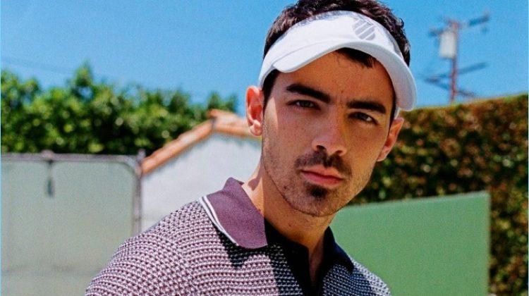 Joe Jonas & DNCE Embrace Retro Tennis Style for K-Swiss Campaign