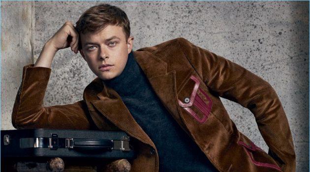 Actor Dane DeHaan wears a fall-winter 2017 look by Italian fashion house, Prada.