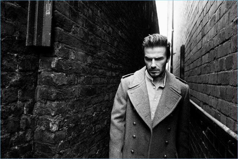 David Beckham stars in Kent & Curwen's fall-winter 2017 campaign.