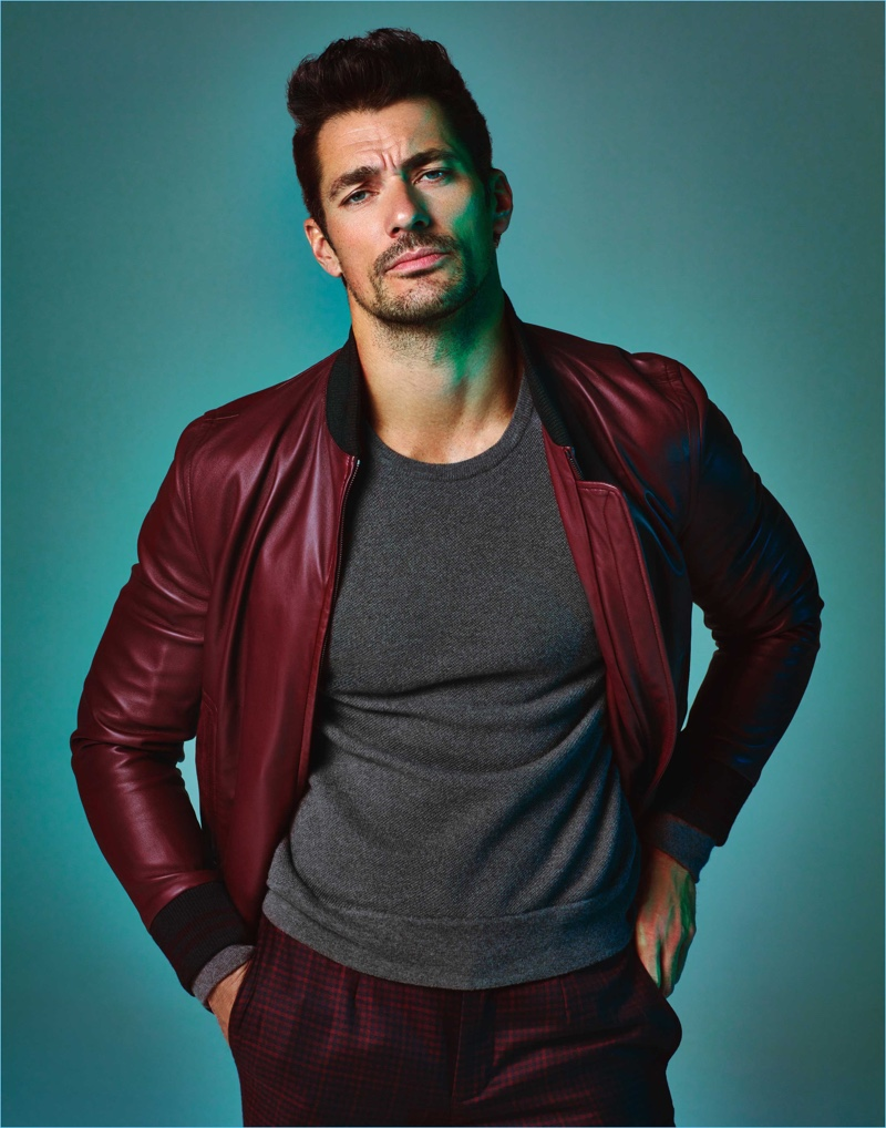 David Gandy is Dashing for Prestige Hong Kong Cover Story