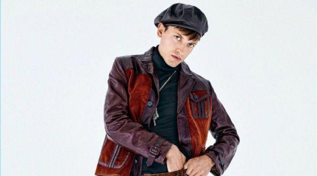 L'Effronté: Eddie Klint Dons the Fall '17 Collections for GQ France